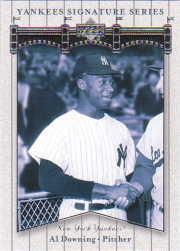 2003 Upper Deck Yankees Signature #1 Al Downing
