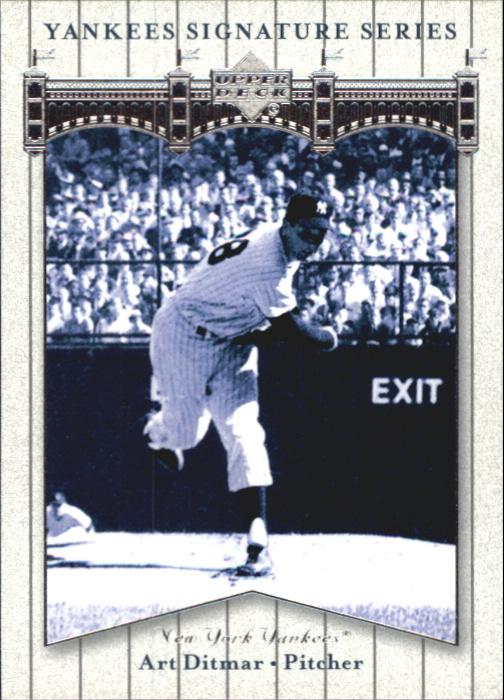 2003 Upper Deck Yankees Signature #3 Art Ditmar