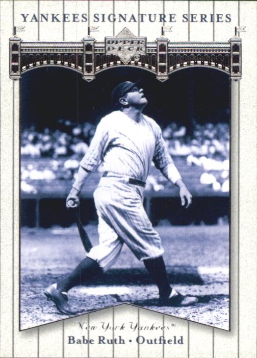 2003 Upper Deck Yankees Signature #4 Babe Ruth