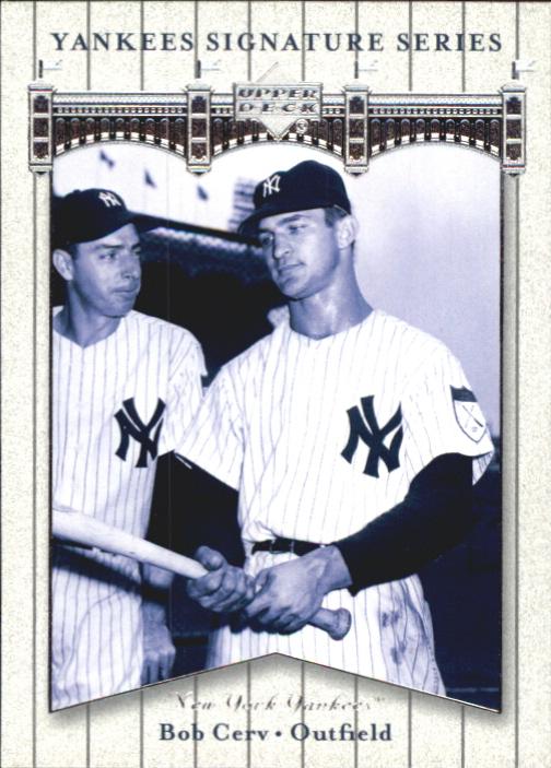 2003 Upper Deck Yankees Signature #7 Bob Cerv