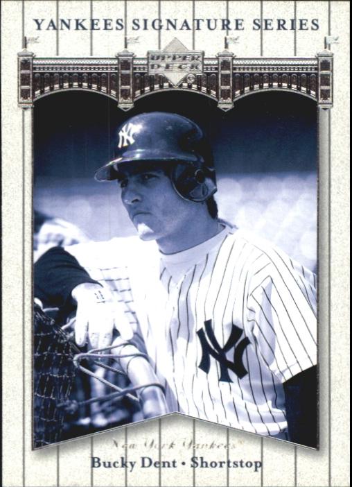 2003 Upper Deck Yankees Signature #12 Bucky Dent