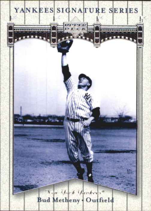2003 Upper Deck Yankees Signature #13 Bud Metheny XRC