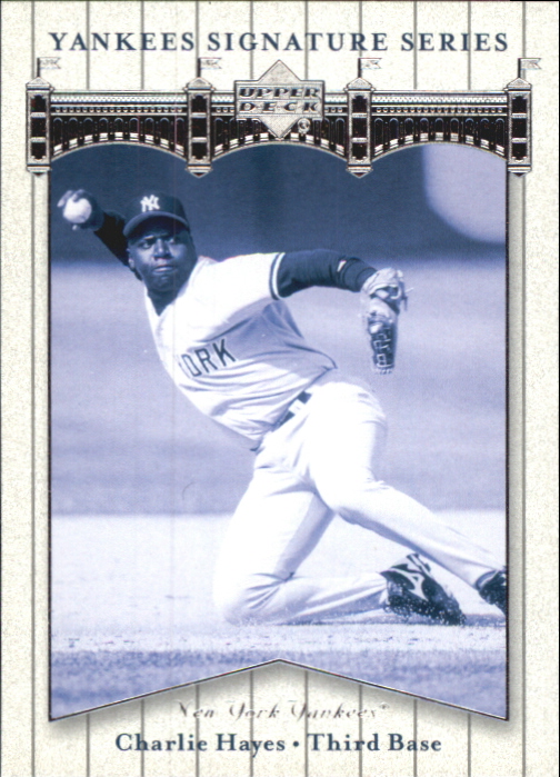 2003 Upper Deck Yankees Signature #15 Charlie Hayes