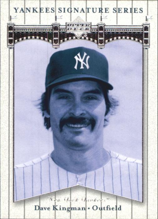2003 Upper Deck Yankees Signature #19 Dave Kingman