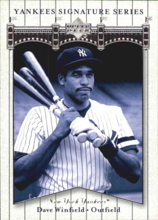 2003 Upper Deck Yankees Signature #21 Dave Winfield