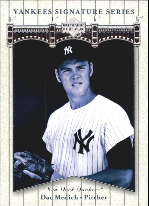 2003 Upper Deck Yankees Signature #24 Doc Medich