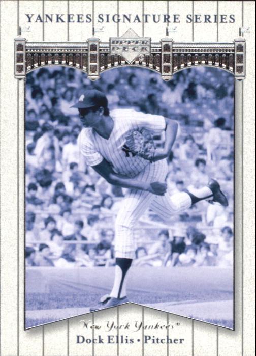 2003 Upper Deck Yankees Signature #25 Dock Ellis