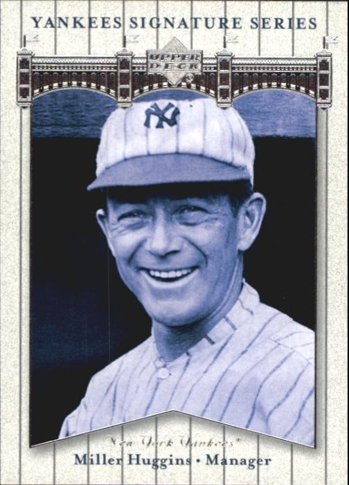 2003 Upper Deck Yankees Signature #62 Miller Huggins MG