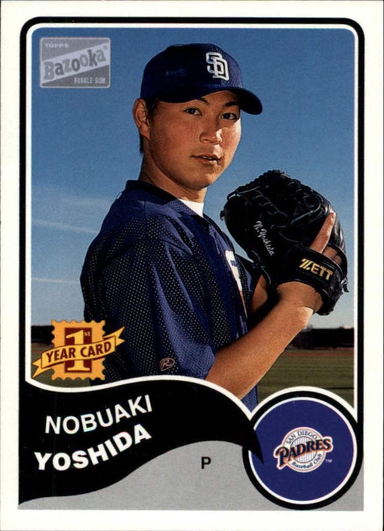 2003 Bazooka #103 Nobuaki Yoshida RC