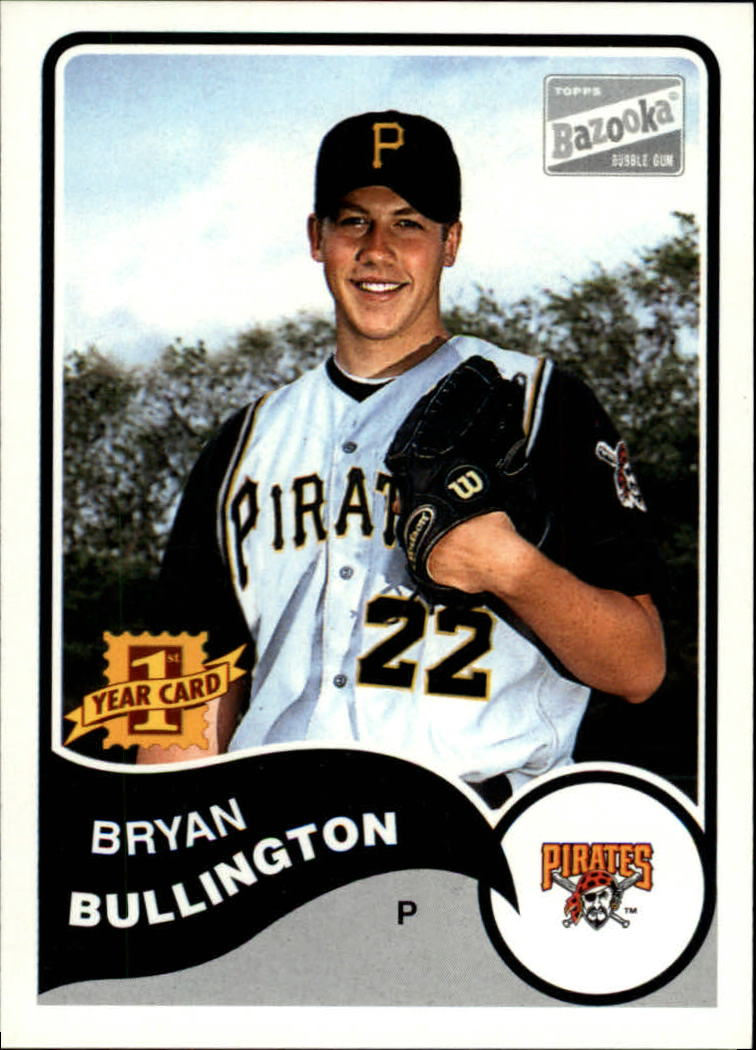 2003 Bazooka #142 Bryan Bullington RC
