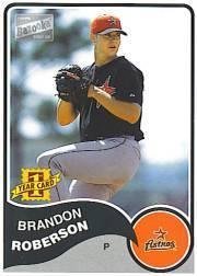 2003 Bazooka #153 Brandon Roberson RC