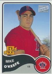 2003 Bazooka #181 Mike O'Keefe RC