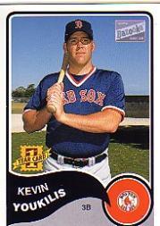 2003 Bazooka #182 Kevin Youkilis RC
