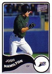 2003 Bazooka #188 Josh Hamilton