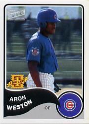 2003 Bazooka #201 Aron Weston RC