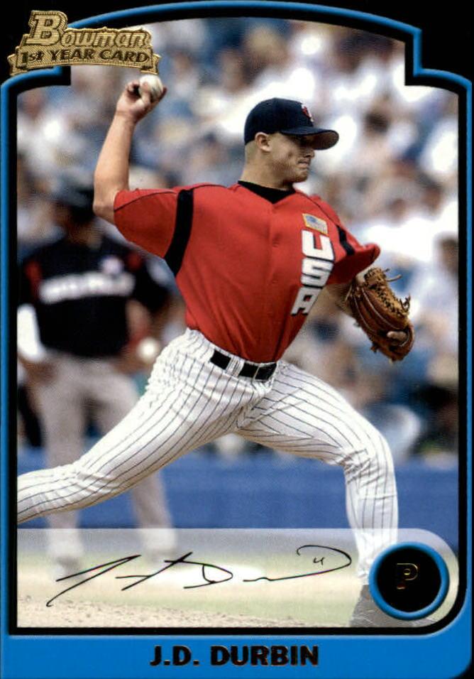 2003 Bowman Draft #128 J.D. Durbin