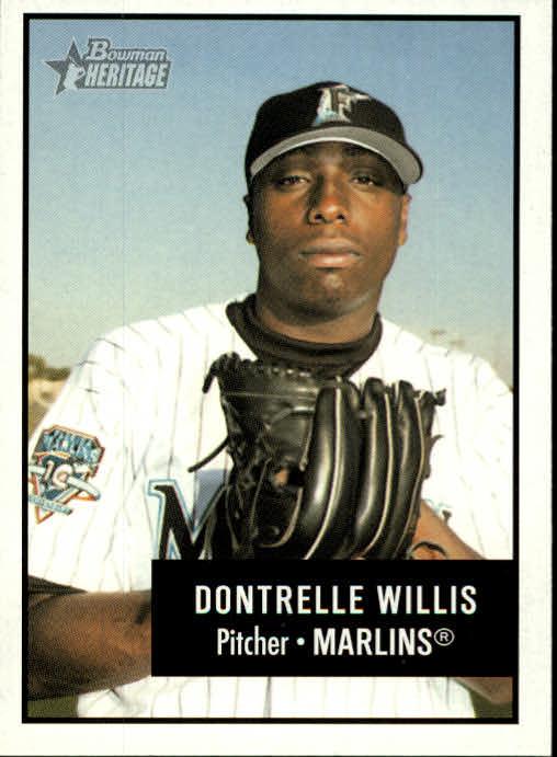 2003 Bowman Heritage #110 Dontrelle Willis