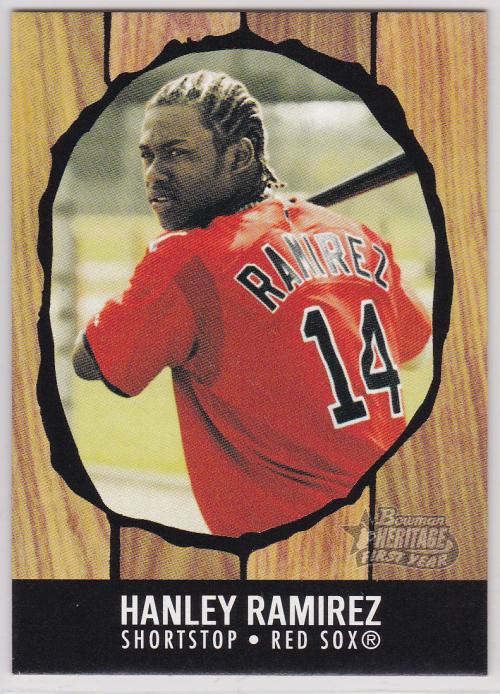 2003 Bowman Heritage #196 Hanley Ramirez KN RC