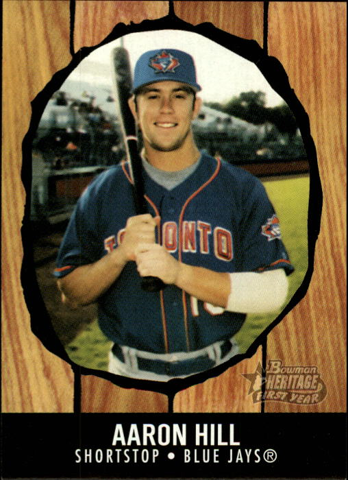 2003 Bowman Heritage #272 Aaron Hill KN RC