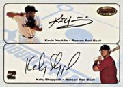 2003 Bowman's Best Double Play Autographs #YS Kevin Youkilis/Kelly Shoppach