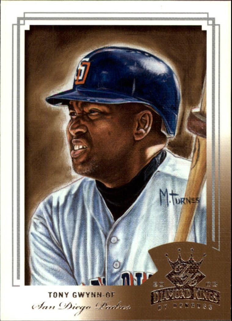 2003 Diamond Kings #169 Tony Gwynn RET