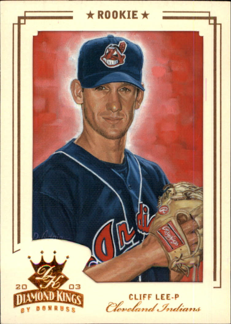 2003 Diamond Kings Bronze Foil #152 Cliff Lee ROO