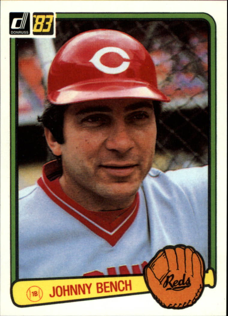 2003 Donruss Anniversary 1983 #16 Johnny Bench