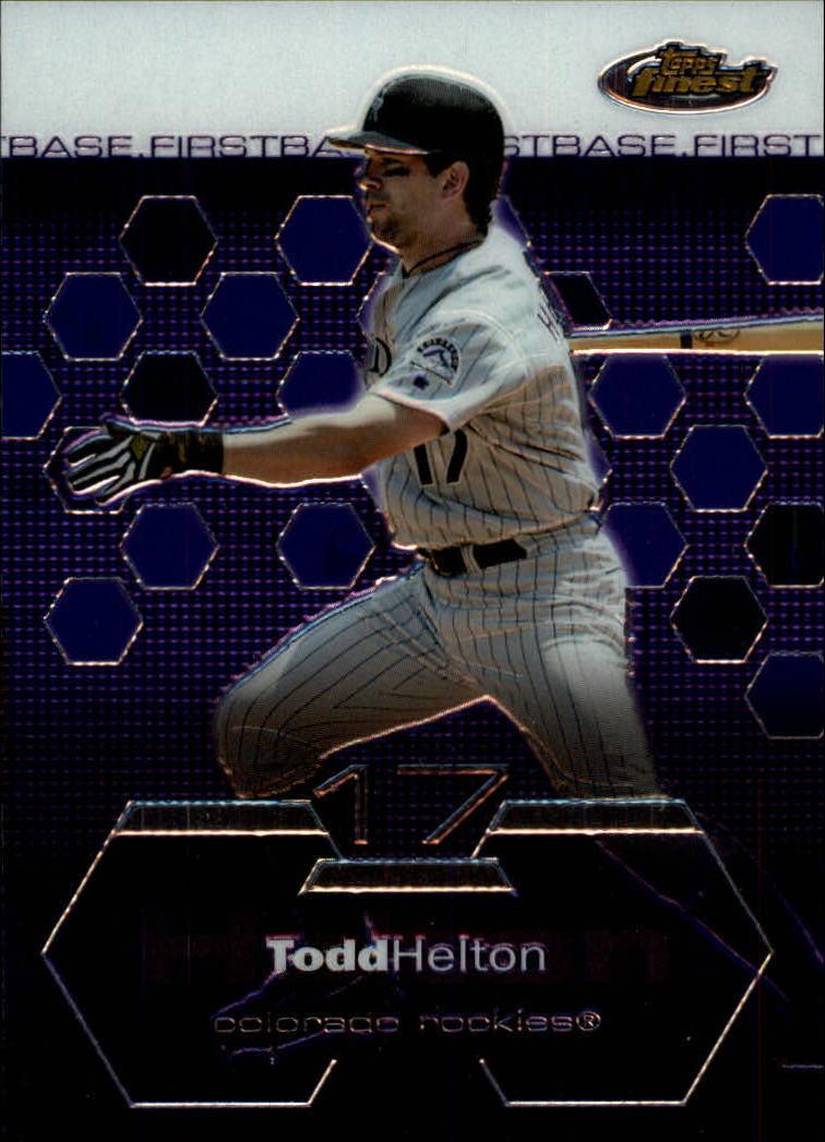 2003 Finest #3 Todd Helton