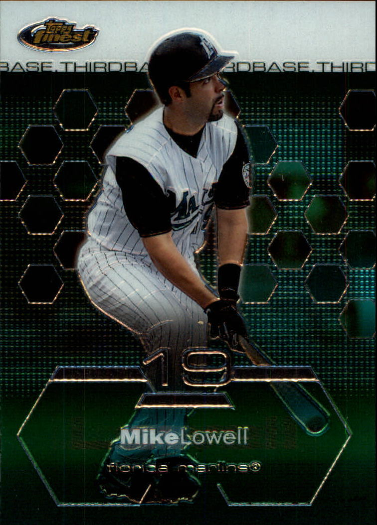 2003 Finest #4 Mike Lowell