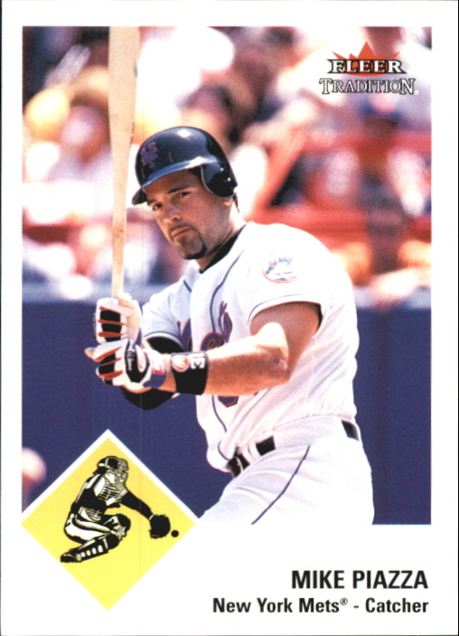 2003 Fleer Tradition Glossy #311 Mike Piazza