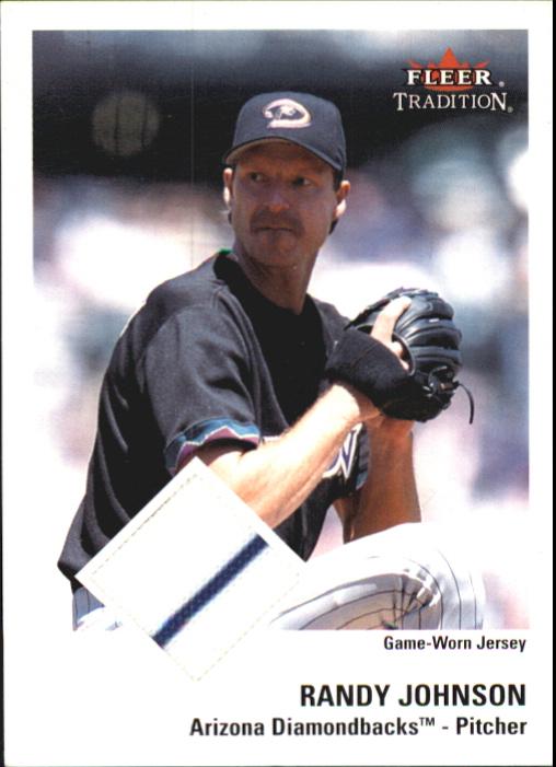 2003 Fleer Tradition Game Used #392 Randy Johnson Jsy SP/150