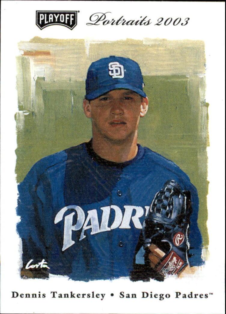 2003 Playoff Portraits #109 Dennis Tankersley