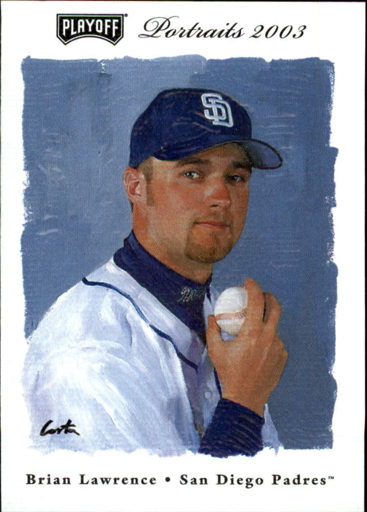 2003 Playoff Portraits #123 Brian Lawrence