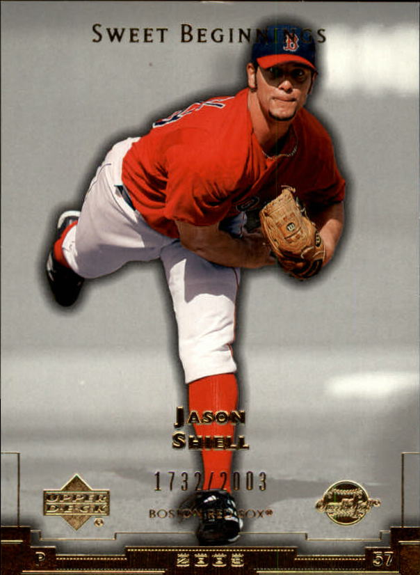 2003 Sweet Spot #131 Jason Shiell SB RC