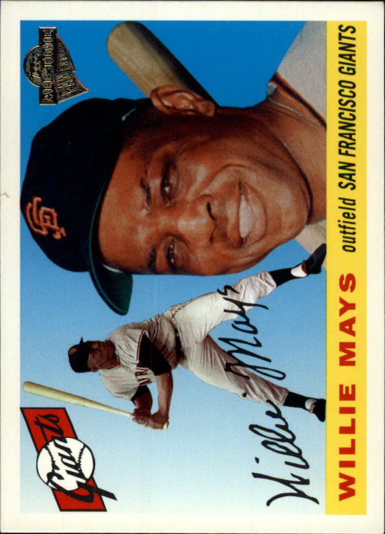 2003 Topps All-Time Fan Favorites #1 Willie Mays