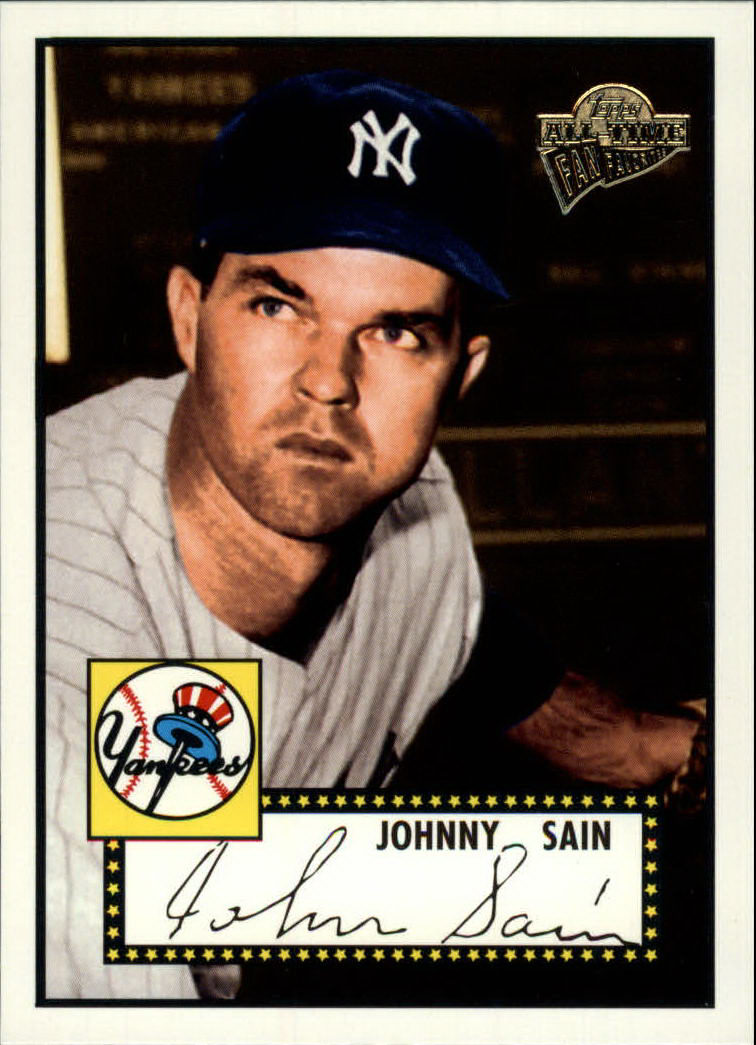 2003 Topps All-Time Fan Favorites #81 Johnny Sain