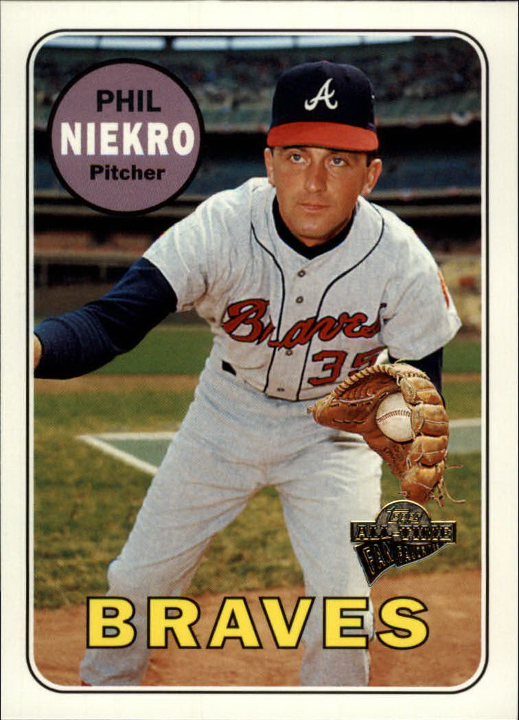 2003 Topps All-Time Fan Favorites #92 Phil Niekro