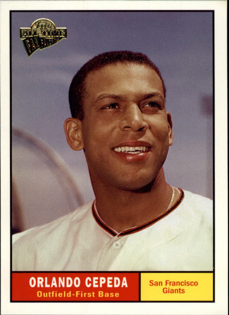 2003 Topps All-Time Fan Favorites #101 Orlando Cepeda