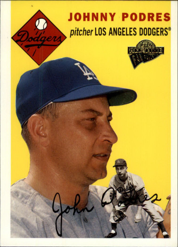 2003 Topps All-Time Fan Favorites #111 Johnny Podres