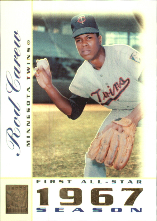2003 Topps Tribute Perennial All-Star #17 Rod Carew