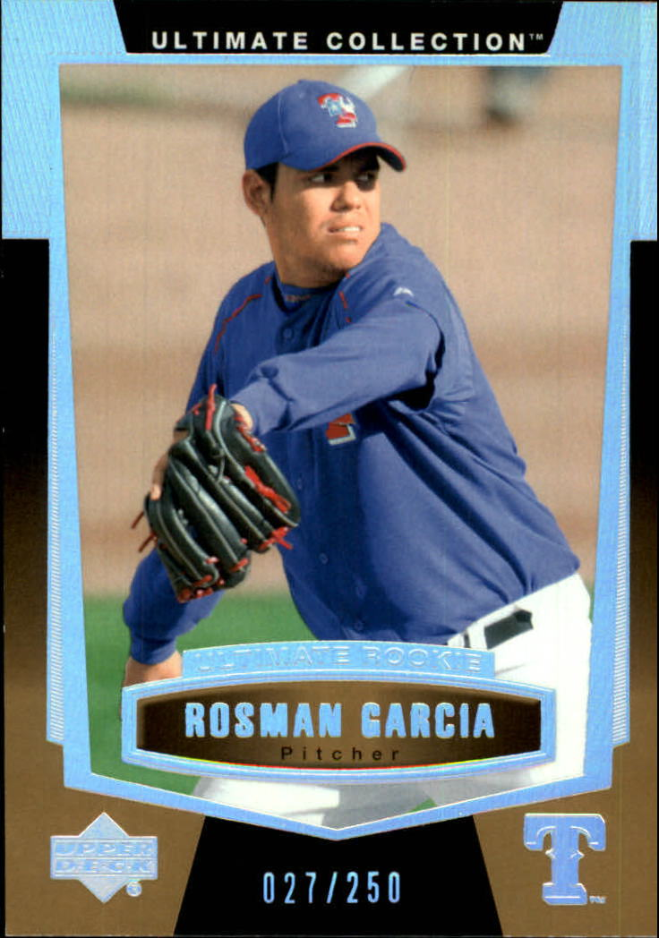 2003 Ultimate Collection #147 Rosman Garcia UR T3 RC