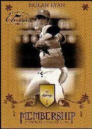 2003 Donruss Classics Membership #6 Nolan Ryan