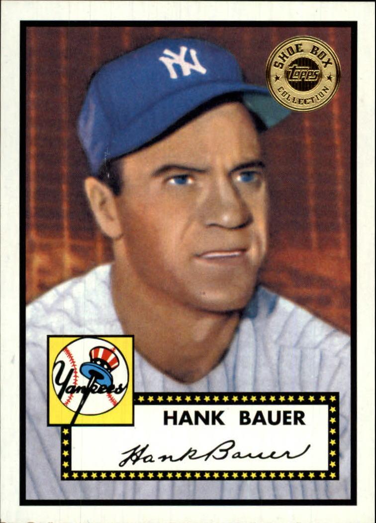 2003 Topps Shoebox #6 Hank Bauer