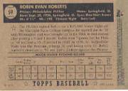 2003 Topps Shoebox #8 Robin Roberts back image