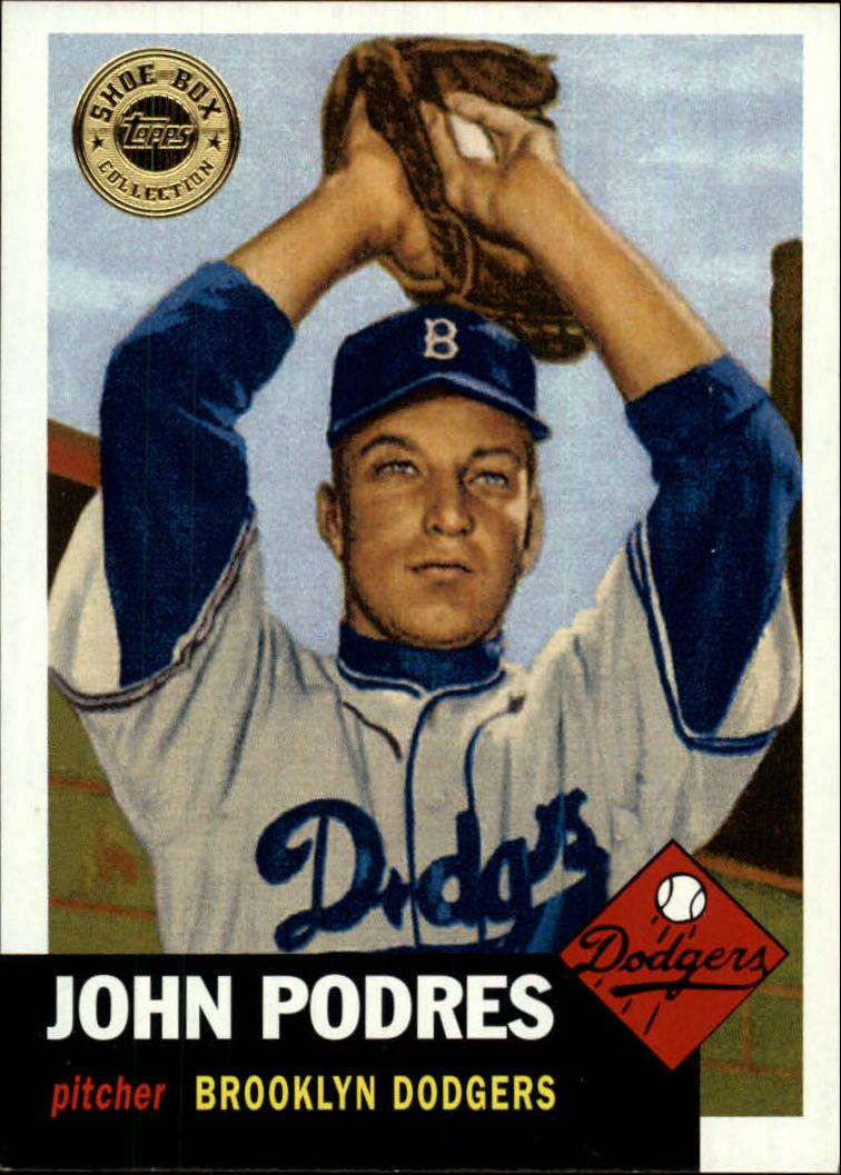 2003 Topps Shoebox #14 John Podres