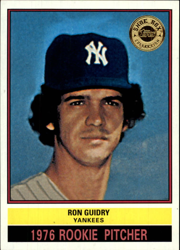 2003 Topps Shoebox #67 Ron Guidry