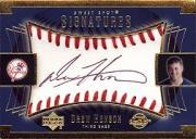 2003 Sweet Spot Signatures Black Ink #DHAU Drew Henson