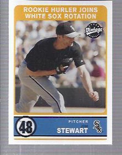 2003 Upper Deck Vintage #282 Josh Stewart RC