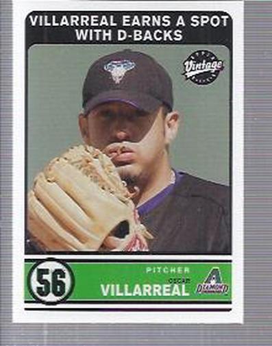 2003 Upper Deck Vintage #293 Oscar Villareal RC