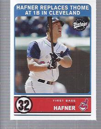 2003 Upper Deck Vintage #310 Travis Hafner